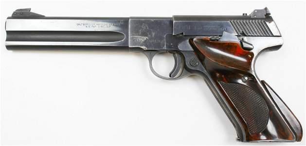 Colt Woodsman Match Target pistol in .22lr