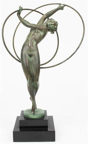 Max LeVerrier Art Deco Fayre Nude Dancer