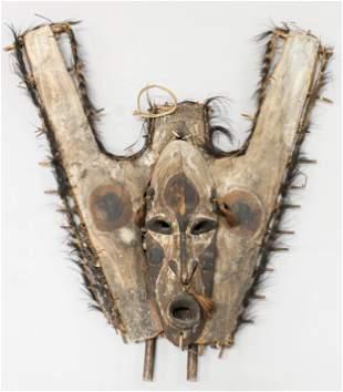 Sepik River Canoe Prow Mask