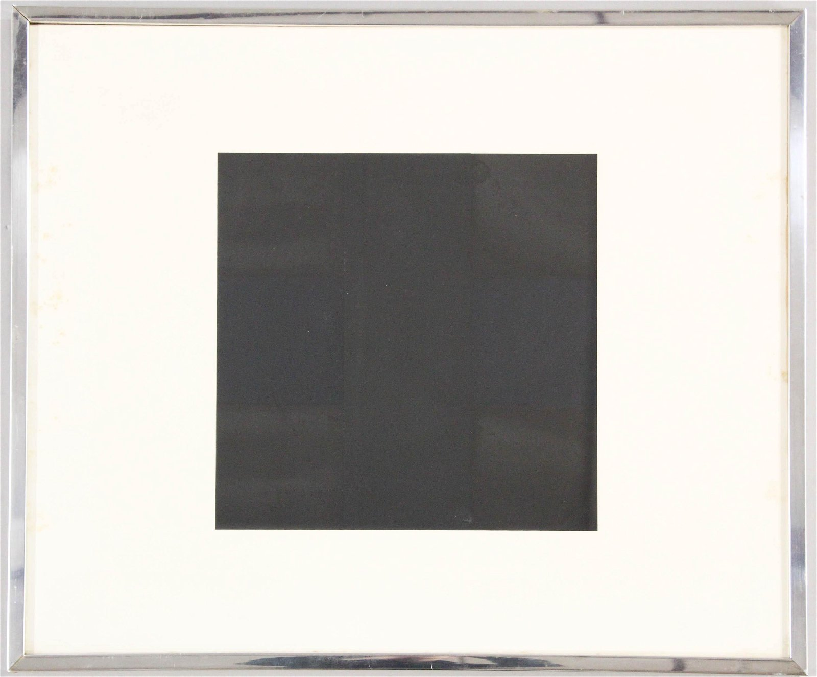Ad Reinhardt (AM 1913-1967) Black Square