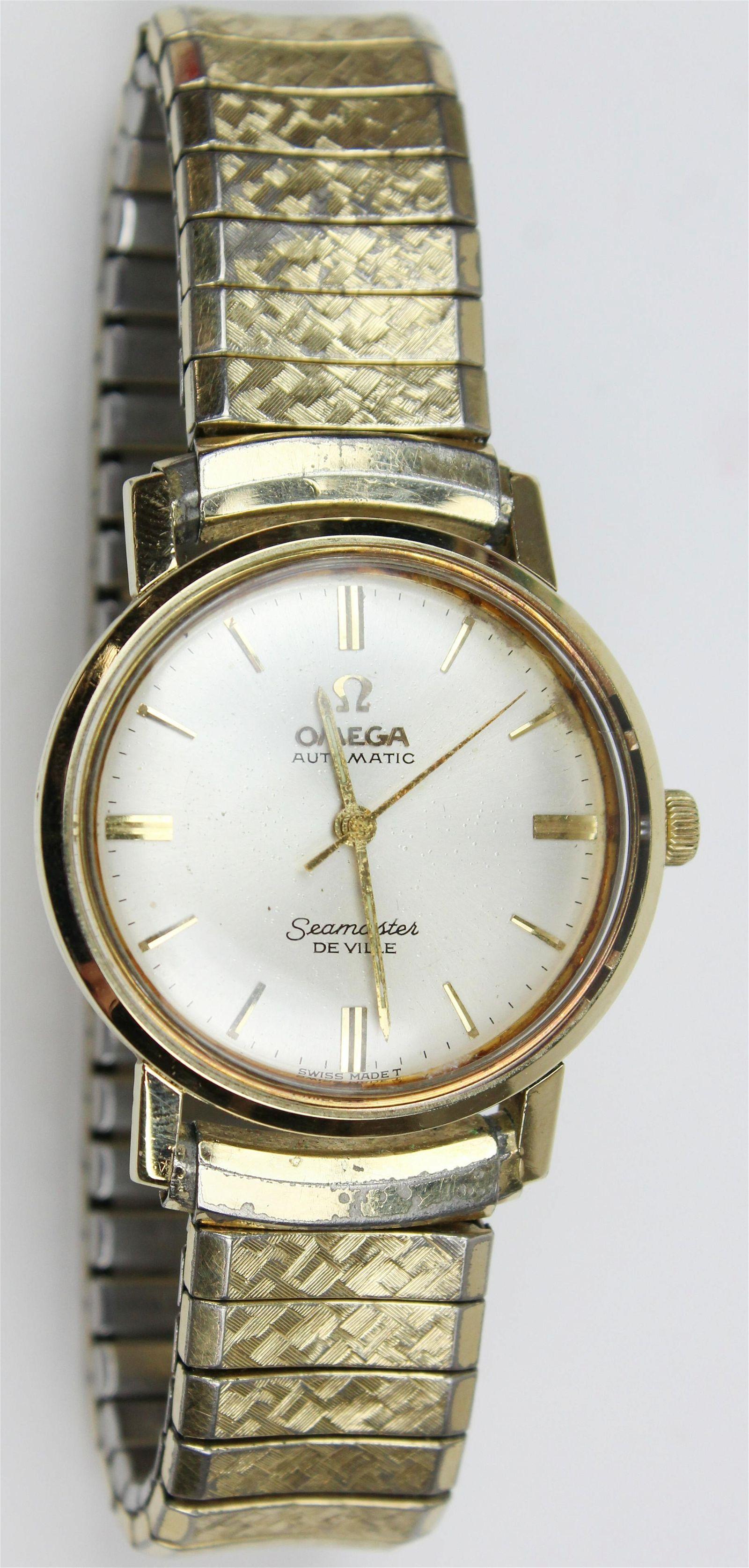 Omega Seamaster men's wrist watch