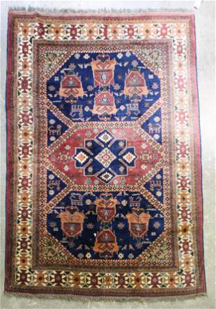 Mid- Late 20th c Persian Tribal Main Carpet