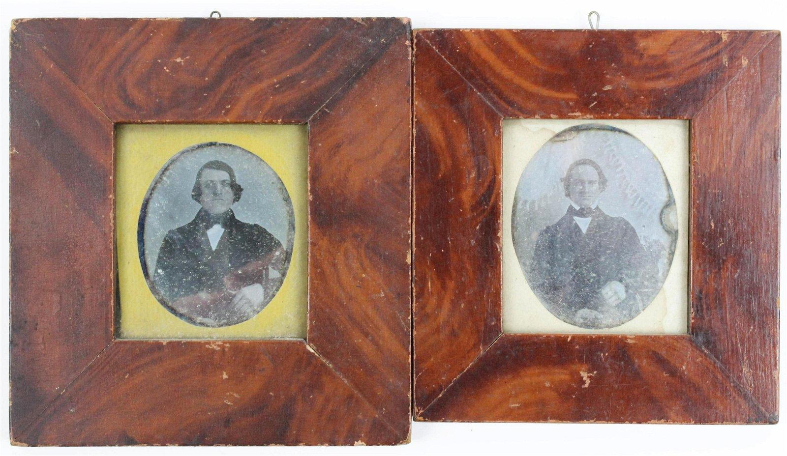Warren Pooler Sr Framed Daguerreotypes