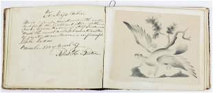 1847 Miss Elizabeth Aiken Remembrance Book
