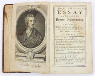 George Mason signed 1741 John Locke