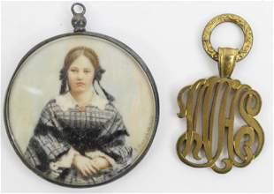 Zelda Shanfield, Paris Miniature Portrait