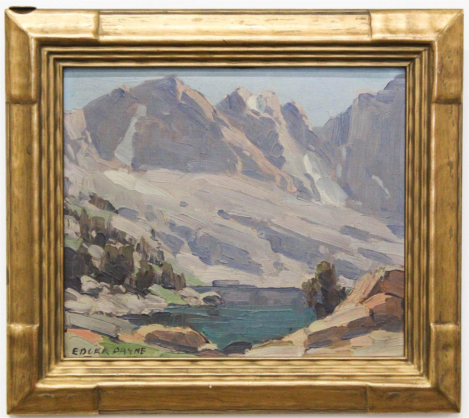 Edgar Alwin Payne (1883-1947) Sierra Nevada Mountains