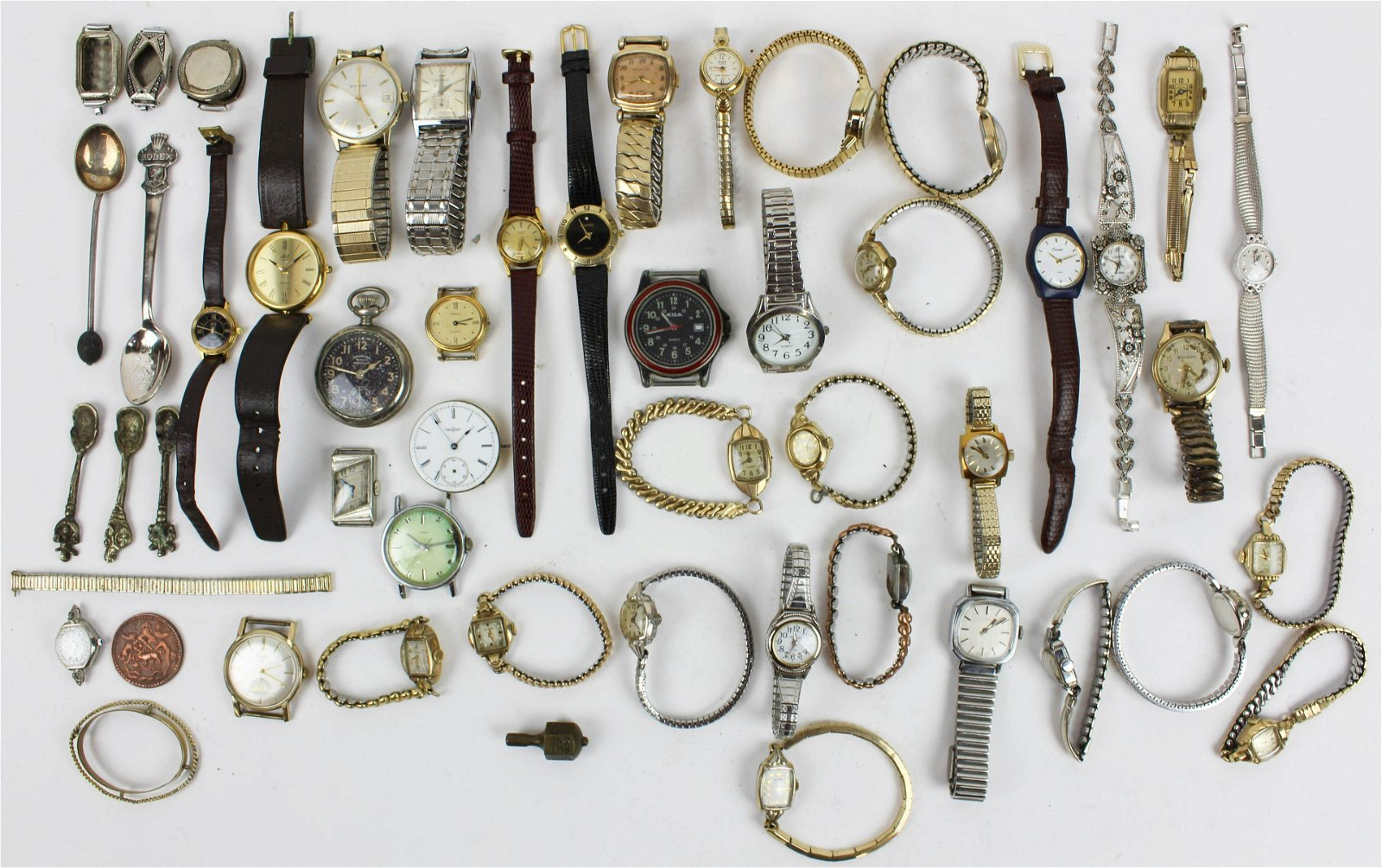 Group of Vintage men's & women's wrist watches