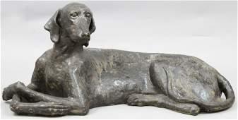 Barbara Kaufman Dog Sculpture