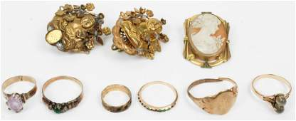 Victorian jewelry and gold