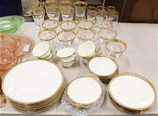 40 pcs Royal Worcester Chancellor Dinnerware