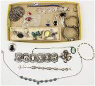 A large lot of designer jewelry