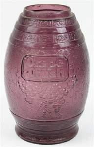 Grape-Crush Soda Fountain Syrup Dispenser