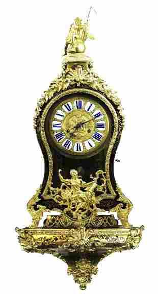 18th c French Le Faucher Paris Bracket Clock