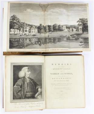 1782 Watson Memoirs of the Ancient Earls