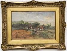Hans Von Bartels (1856-1913) watercolor