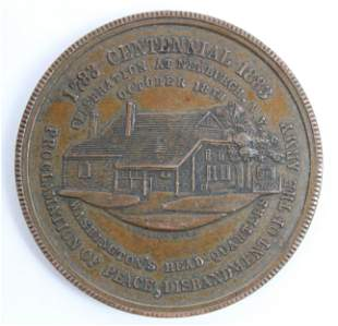 1883 Newburgh, NY Washington Centennial