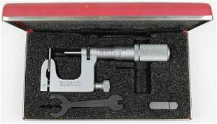 Starrett No. 220 Mul-T-Anvil Outside Micrometer