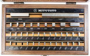 Mitutoyo 516-915 Gage Block Set