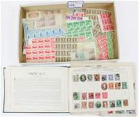 US Mint NH Stamps Early Foreign Album