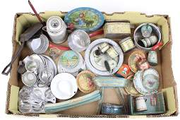 Vintage Tin, Aluminum Kitchen Toys, Dishes