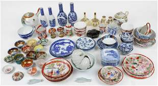 Group of Small Japanese Porcelain Items