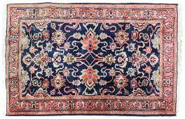 Early Mid 20th c Persian Heriz Area Rug