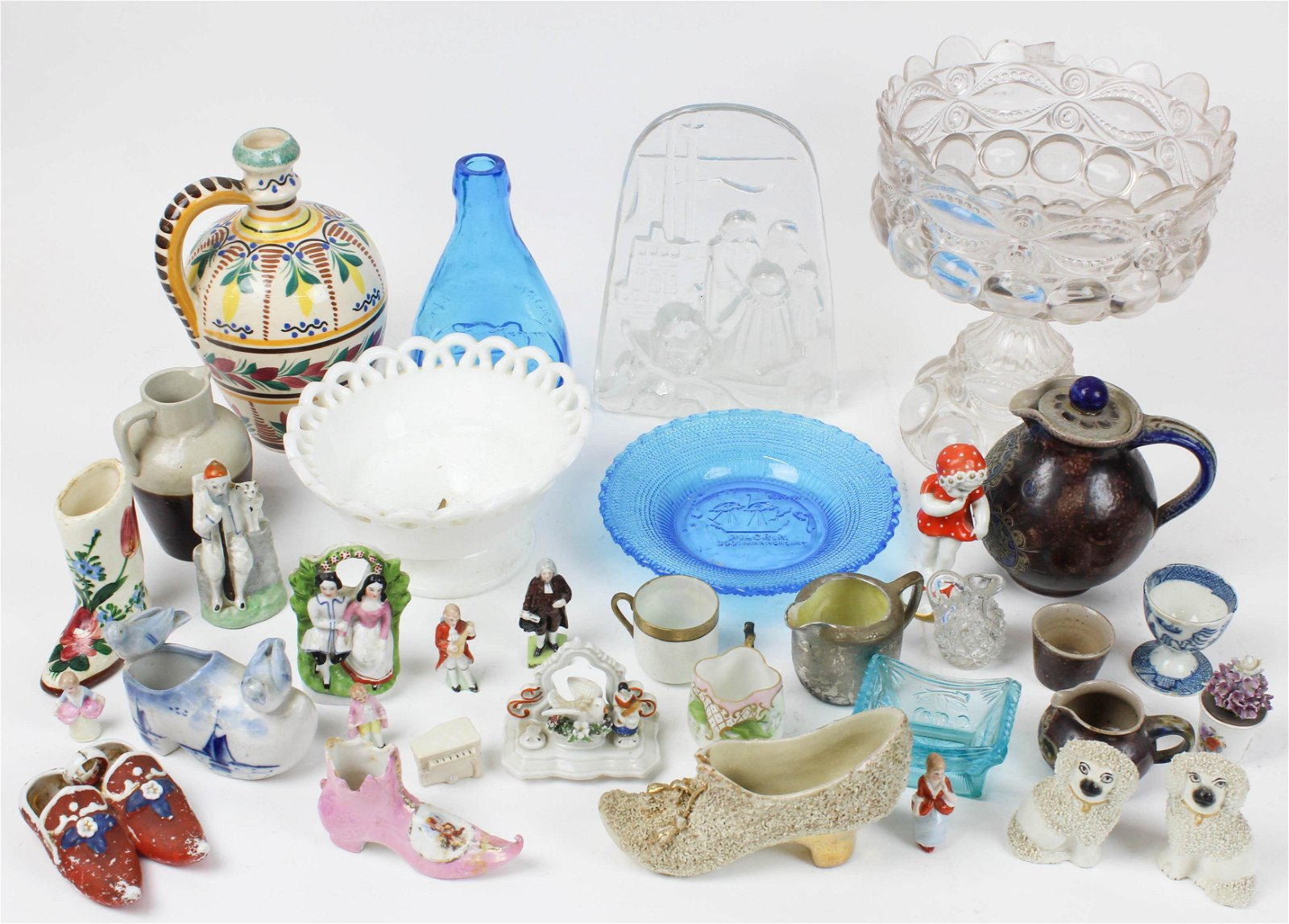Lot of Assorted Glass and Porcelain