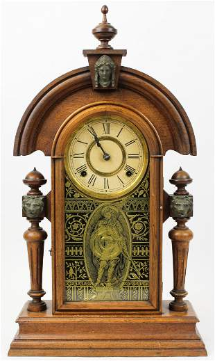 Ansonia King Victorian Shelf Clock