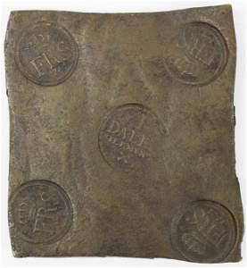 1741 Swedish Copper Plate Money
