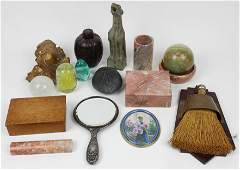 Asian Accessories, Desk Items, and Various Smalls
