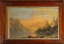 Albert Bierstadt AM 18301902 Sunset