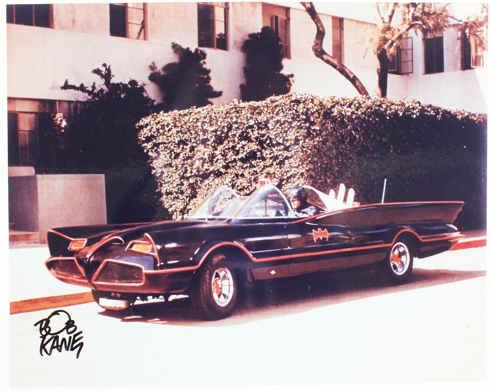 Bob Kane, Eli Wallach, Art Carney Batman Photos