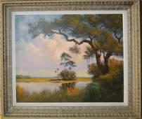 Russell Robert Sheibenberger(AM 20th c ) Florida Marsh