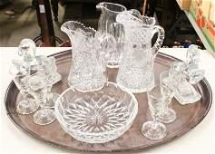 Group of Crystal Tableware incl. Val St. Lambert