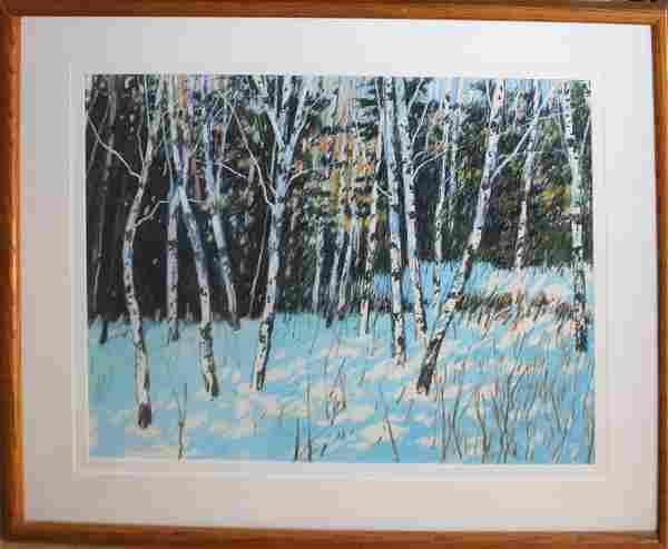 William E Murray (AM Contemporary) Winter Landscape