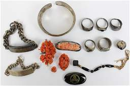 Assorted Sterling and Victorian Jewelry