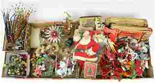 Christmas Decorations incl Scrap and Tinsel