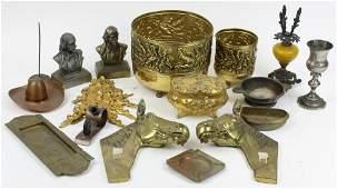 Lot of Decorative Metalware Accessories