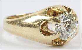 Men's 1.8 CT Diamond Ring