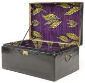 Chinese Lacquered Lift Top Chest