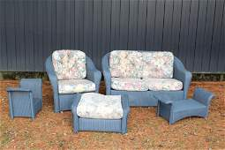Lloyd Loom Outdoor Patio Furniture Set