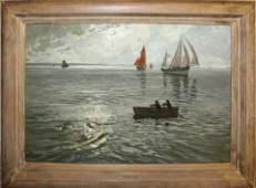 Marcel Clement (CA 1873-) Silver Glitter