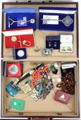 Case of Various Jewelry & Gold