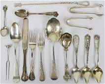 15 pcs. Assorted Sterling Silver Flatware