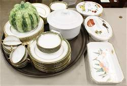 Group of Fine China Incl. Minton, Limoges, etc.