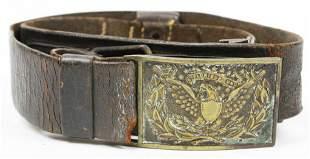 Pattern 1851 US NCO Belt Plate and Belt