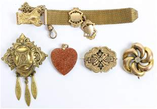 Victorian Gold Jewelry