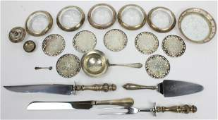 Assorted Sterling Silver Hollowware and Flatware