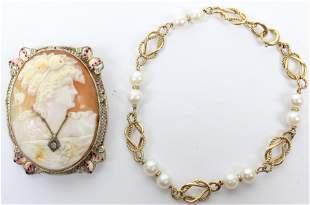 3 Vintage Jewelry Pieces